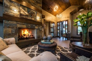 Glenwild Rambler - Park City - Interior Fireplace