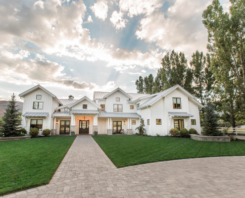 Utah Custom Homes Midway Farms Exterior