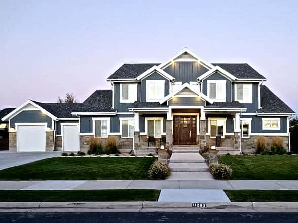 Blue haven south jordan lane myers construction utah for Building a house in utah
