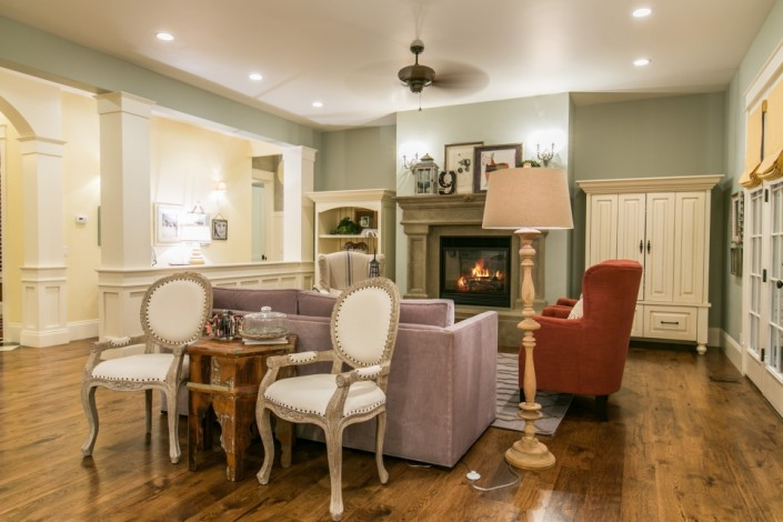 Chapel Ridge - South Jordan Interior Living Room 2
