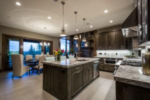 Glenwild Rambler - Park City Interior Kitchen Island