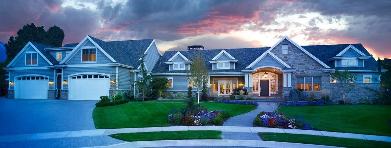Lane Myers Custom Home Exteriors Street View