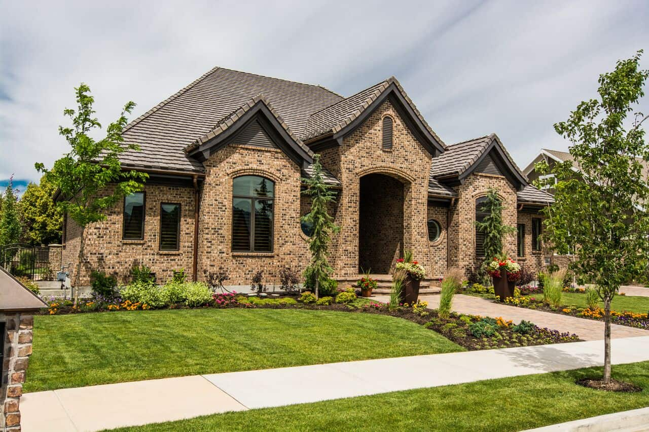 Mont Royal - South Jordan Custom Home Exterior front of home