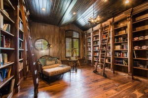 Mont Royal - South Jordan Custom Home Interior library