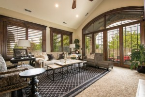 Mont Royal - South Jordan Custom Home Interior living room