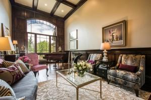 Mont Royal - South Jordan Custom Home Interior piano room