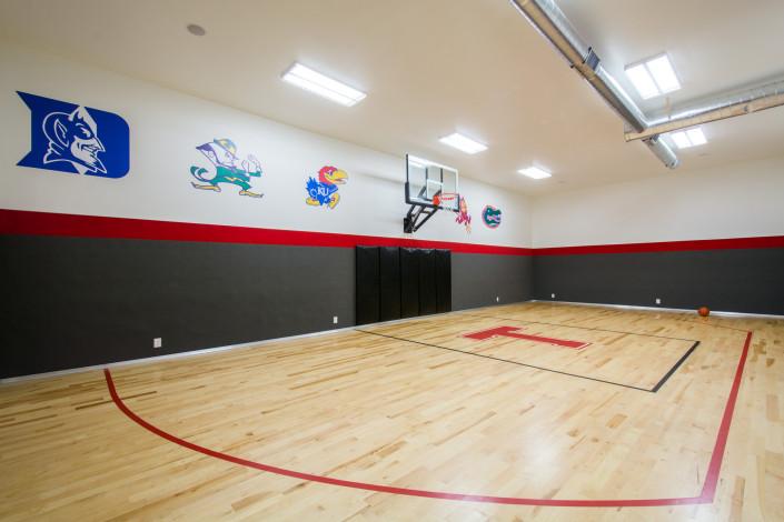 Nelson Farms Basketball Court