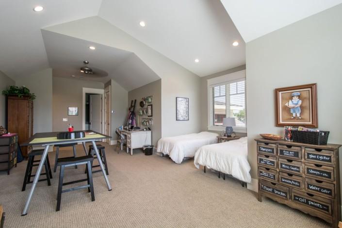 Nelson Farms Custom Home Bonus Room