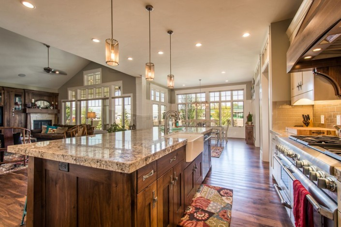 Nelson Farms Custom Home Kitchen