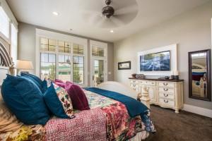 Nelson Farms Custom Home MAster Bedroom