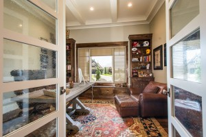 Nelson Farms Custom Home Office