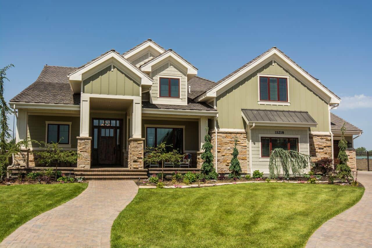 Nelson Farms Front of Utah Custom Home