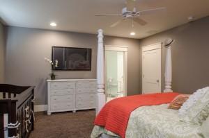 Northbridge - St. George Interior bedroom with view of bathroom