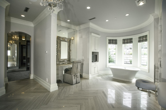 Parade of Homes Draper Interior Master Bath