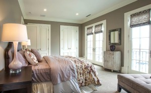 Parade of Homes - Draper Utah Custom Home Bedroom 2