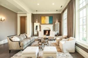 Parade of Homes - Draper Utah Custom Home Living Room