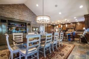 Polo Club Court - South Jordan Custom Home Interior Dining Room
