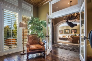 Polo Club Court - South Jordan Custom Home Interior Entrance