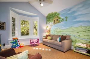 Polo Club Court - South Jordan Custom Home Interior Family Room