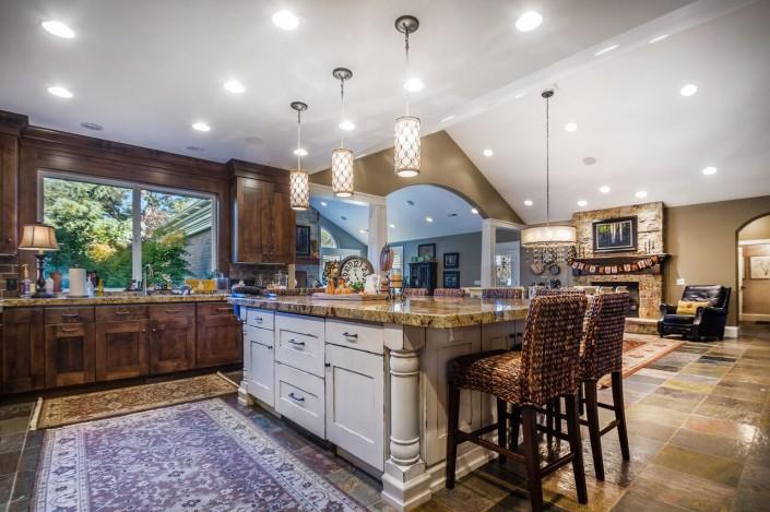 Polo Club Court - South Jordan Custom Home Interior Kitchen