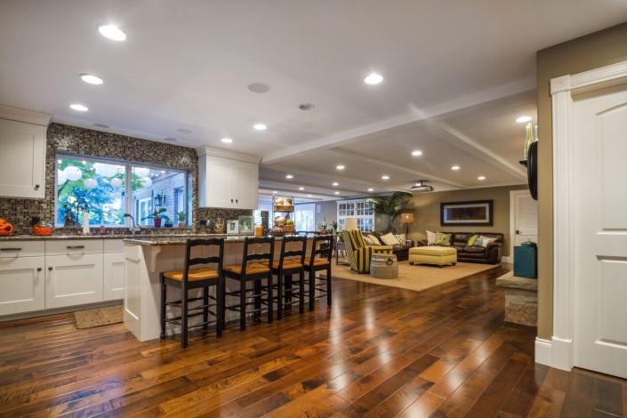 Polo Club Court - South Jordan Custom Home Interior Kitchen Island
