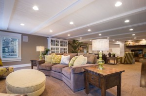Polo Club Court - South Jordan Custom Home Interior Livingroom