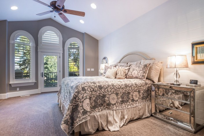 Polo Club Court - South Jordan Custom Home Interior Master Bedroom
