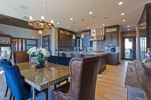 Promontory Rambler - Park City Custom Home Interior Dining Room
