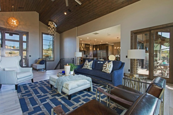 Promontory Rambler - Park City Custom Home Interior Entrance