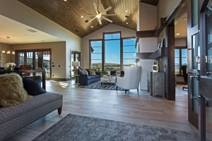 Promontory Rambler - Park City Custom Home Interior Living Room