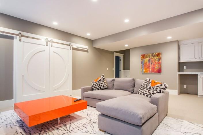 The Avenues - Salt Lake Custom Homes Interior Extra Room