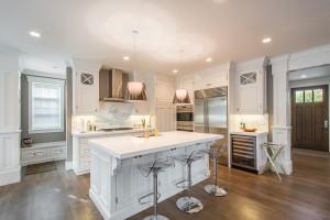 The Avenues - Salt Lake Custom Homes Interior Kitchen with Island