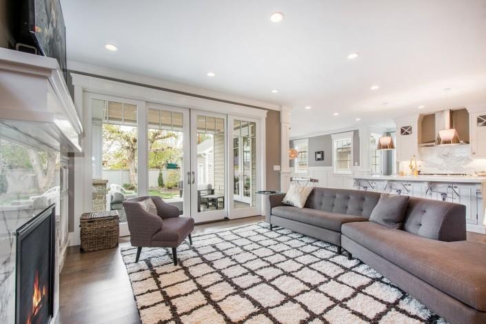 The Avenues - Salt Lake Custom Homes Interior Livingroom