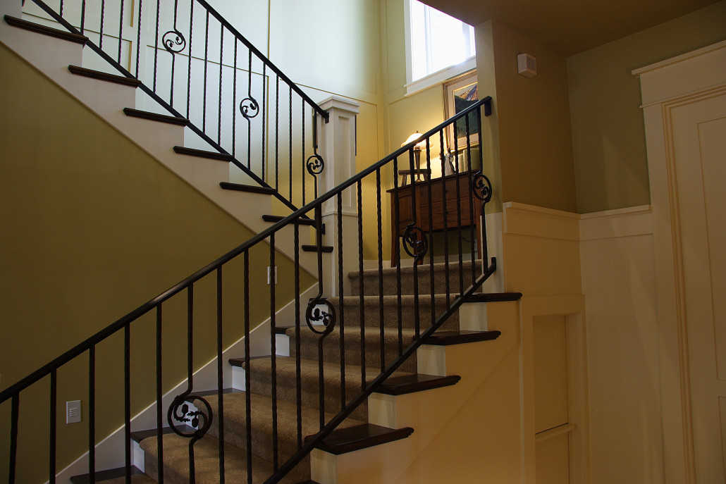 Field of dreams lane myers construction utah custom - Interior stair railing contractors ...