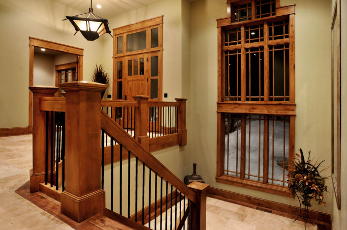 Holly Hock Interior Entry