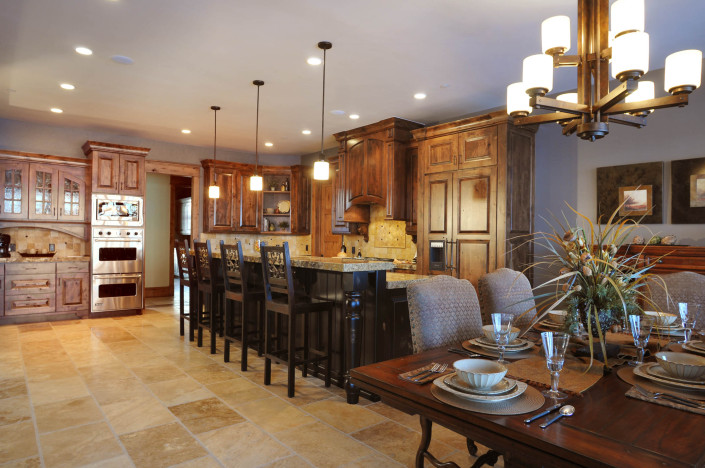 Holly Hock Interior Kitchen Side