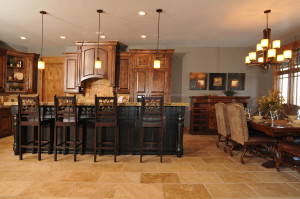 Holly Hock Interior Kitchen Wide