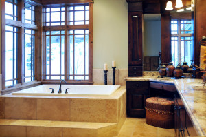 Holly Hock Interior Master Bath