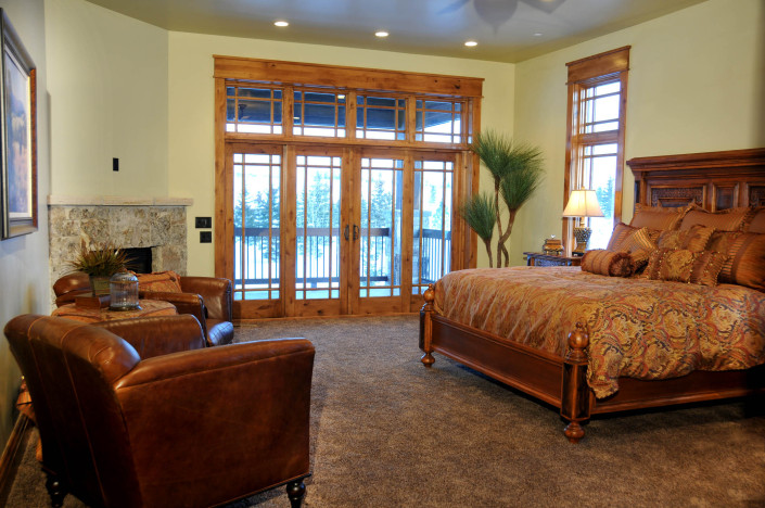 Holly Hock Interior Master Suite
