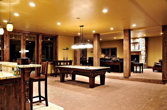 The Preserve Basement Game Room