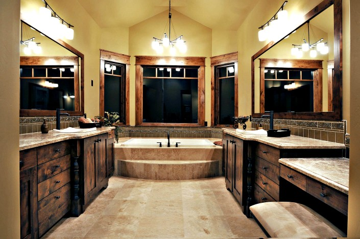 The Preserve Master Bath Wide