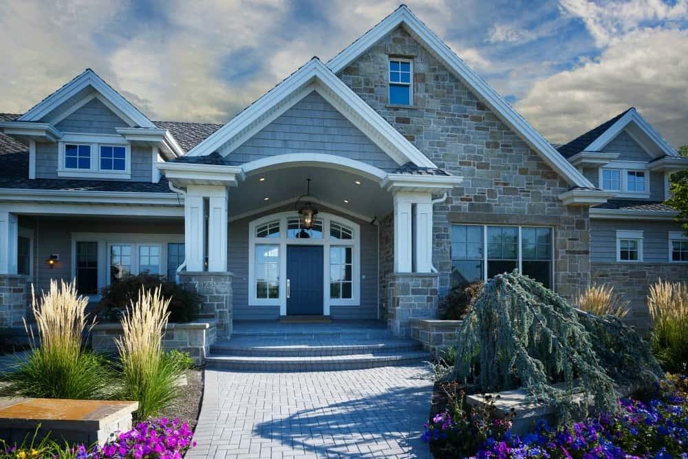myers construction utah custom home builders custom home exteriors