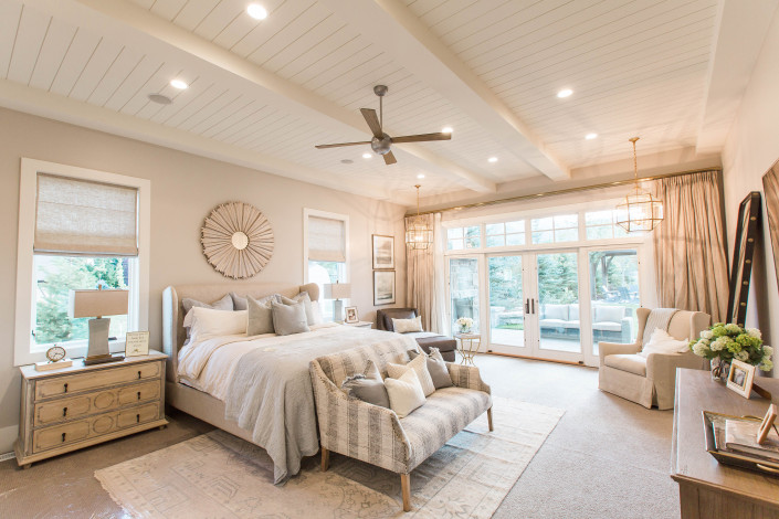 Utah Custom Homes Midway Farms Bedroom