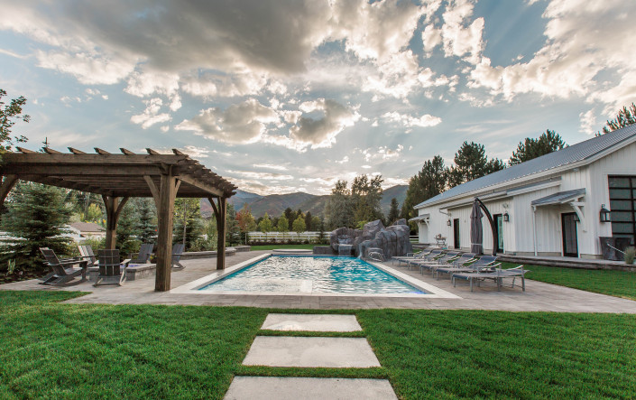 Utah Custom Homes Midway Farms Pool