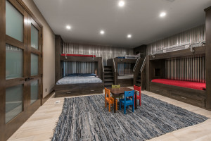 Utah Custom Homes Kamas Bunks