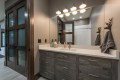 Utah Custom Homes Kamas Cabin Bathroom