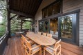 Utah Custom Homes Kamas Cabin Deck